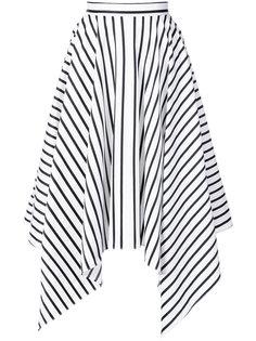 полосатая юбка Adam Lippes