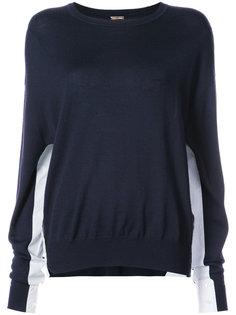 свитер с круглым вырезом Adam Lippes
