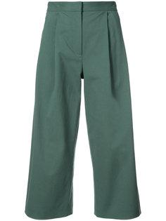 укороченные широкие брюки  Adam Lippes