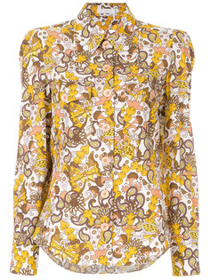 блузка с рисунком Chloé