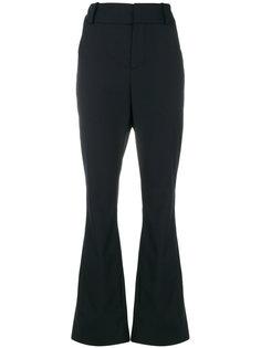 расклешенные брюки с завышенной талией  Marni