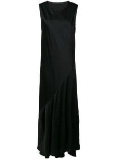 платье с драпировкой  Haider Ackermann