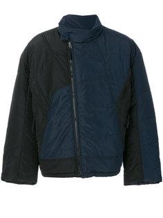 стеганая двухцветная куртка Gmbh