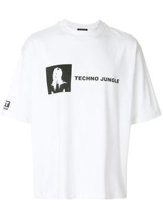 футболка с принтом Techno Jungle Helmut Lang