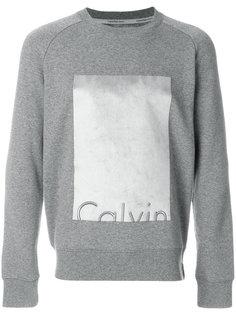 толстовка с вышивкой логотипа Calvin Klein Jeans