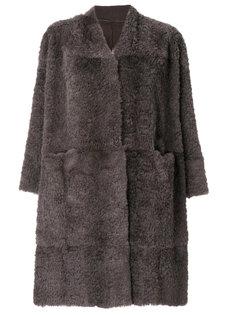 прямое пальто  Salvatore Santoro