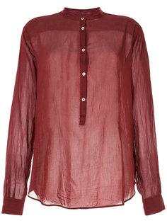 рубашка с воротником-стойкой Forte Forte