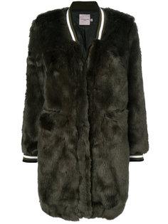 faux fur bomber coat  Urbancode