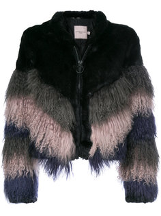 shaggy chevron jacket Urbancode