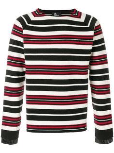 полосатый свитер Moncler Grenoble