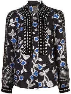 блузка с вышитыми цветами Dodo Bar Or