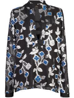блузка с цветочной вышивкой  Dodo Bar Or