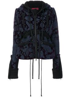 приталенная куртка с капюшоном Di Liborio