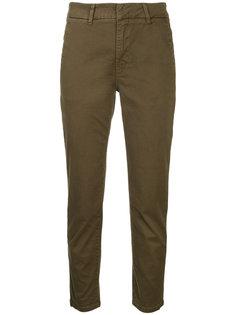 укороченные брюки с завышенной талией  Vince