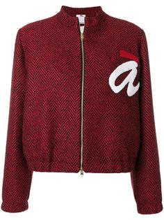 укороченная куртка с логотипом  Ultràchic