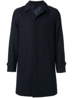 классическое однобортное пальто  Hevo
