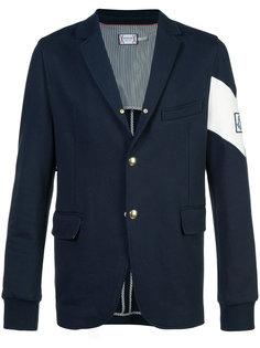 пиджак с нашивкой на рукаве Moncler Gamme Bleu