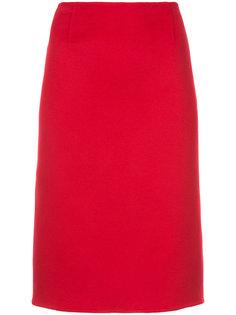 приталенная юбка миди Ralph Lauren Collection