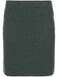 короткая приталенная юбка Ralph Lauren Collection