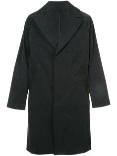 однобортное пальто Saturdays Nyc