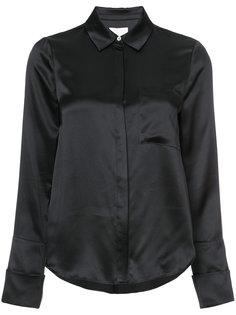 рубашка с потайной застежкой Cinq A Sept