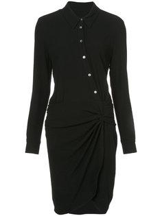 платье-рубашка асимметричного кроя Veronica Beard