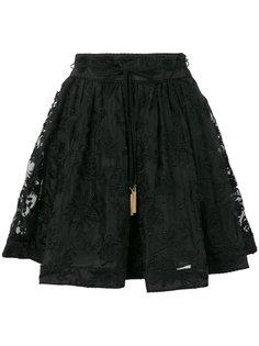 embroidered full mini skirt  Zimmermann