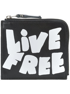 бумажник Live Free Comme Des Garçons Wallet