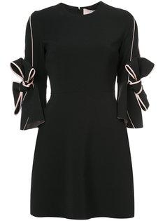 платье с бантами  Roksanda