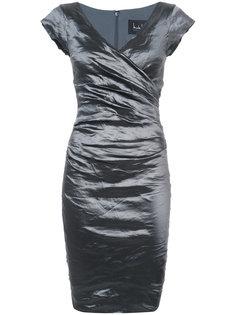 платье с эффектом помятости Nicole Miller