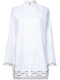 рубашка с заклепками Derek Lam