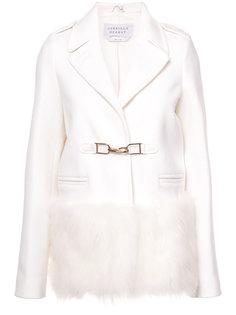пиджак с отделкой искусственным мехом Gabriela Hearst