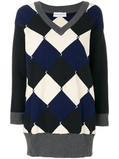 свитер в клетку  Sonia Rykiel