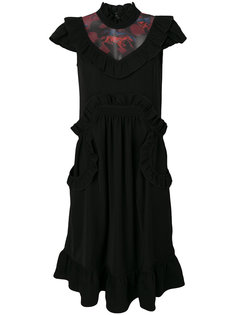 платье с высокой горловиной Coach