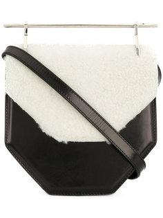 сумка-тоут с контрастной отделкой  M2malletier
