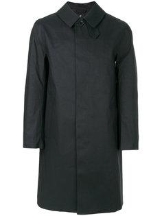классическое приталенное пальто  Mackintosh