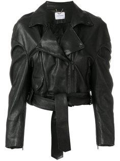 укороченная байкерская куртка Magda Butrym
