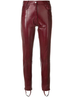 узкие байкерские брюки Magda Butrym