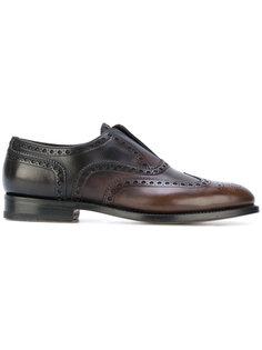 классические туфли Оксфорды Santoni