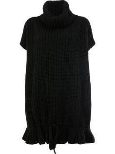 платье-джемпер с воротником-хомут Di Liborio