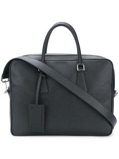 портфель с верхними ручками Prada