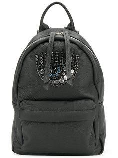 рюкзак Logomania с глазом из поделочных камней Chiara Ferragni