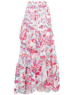 длинная юбка с принтом Peter Pilotto