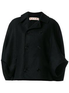 укороченный пиджак-кейп  Marni