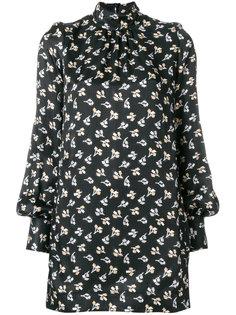 платье с геометрическим цветочным узором  Marc Jacobs