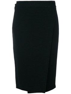 юбка с контрастной молнией  Proenza Schouler