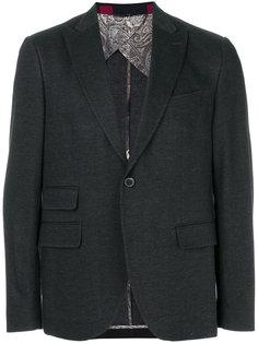 пиджак с заостренными лацканами Etro