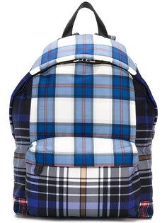 парусиновый рюкзак в клетку  Givenchy