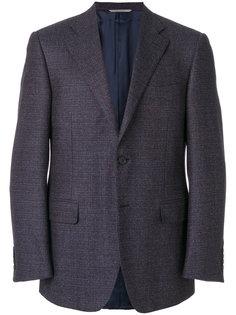 однобортный пиджак Canali