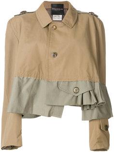 асимметричная куртка с расклешенными рукавами  Erika Cavallini